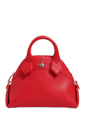 Windsor Grained Leather Top Handle Bag