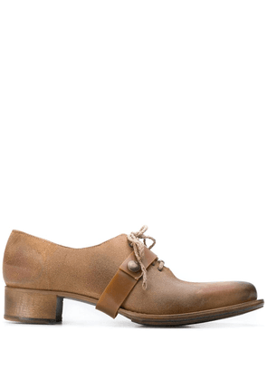 Cherevichkiotvichki mid-heel derby shoes - Brown