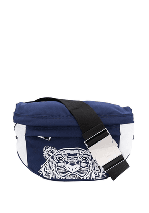 3f4985646aeec2 Kenzo Tiger bumbag Holiday Capsule | Blue | MILANSTYLE.COM