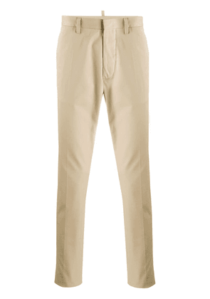 Dsquared2 classic chino trousers - Neutrals