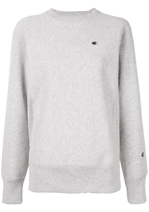 Champion brushed fleece pullover - Grey