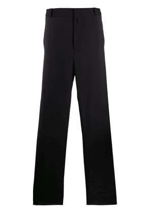 Lanvin pleated tailored trousers - Black