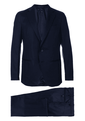 Caruso two piece suit - Blue