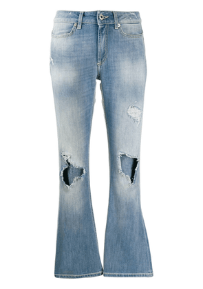 Dondup ripped flared jeans - Blue