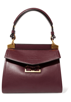 Givenchy - Mystic Small Leather Tote - Dark purple