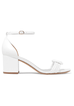 Alexandre Birman - Vicky Knotted Leather Sandals - White