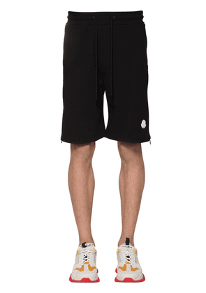 Cotton Sweat Shorts W/ Logo Detail