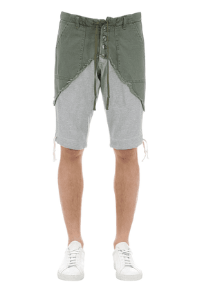 Cotton Army Shorts