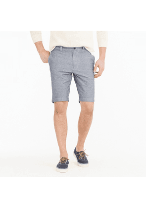 10.5' stretch short in chambray