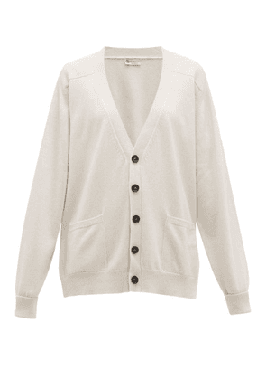 Connolly - Patch Pocket Cashmere Cardigan - Womens - Cream