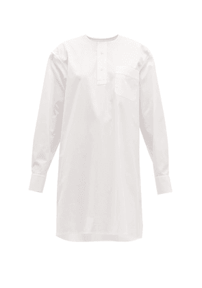 Connolly - Oversized Pleated Cotton Shirt - Womens - White