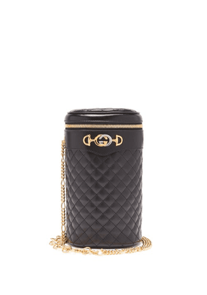 Gucci - Trapuntata Quilted Leather Belt Bag - Womens - Black
