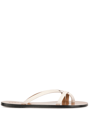 Atp Atelier strappy flat sandals - White