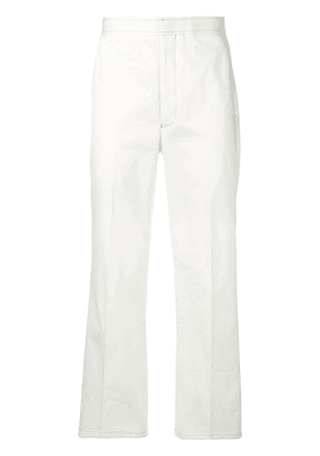Thom Browne Patch Pocket Straight Leg Chino - White