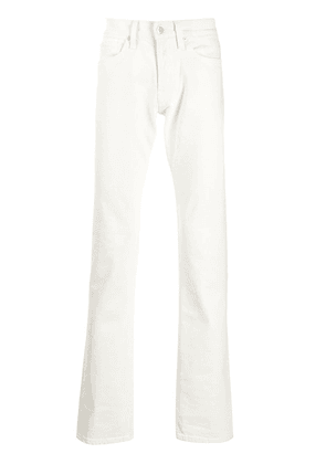 Helmut Lang drain pipe jeans - White