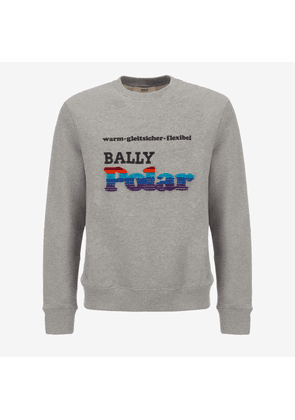 Fleece Sweatshirt Grey 5
