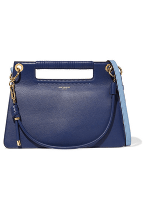 Givenchy - Whip Medium Two-tone Leather Shoulder Bag - Royal blue