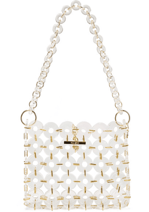 Cult Gaia - Jasmin Acrylic Shoulder Bag - White
