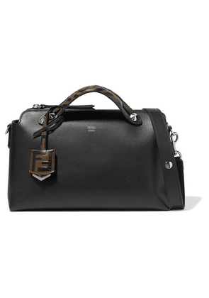 Fendi - By The Way Small Leather Shoulder Bag - Black