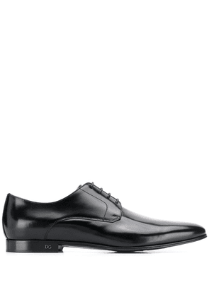 Dolce & Gabbana pointed toe Derby shoes - Black