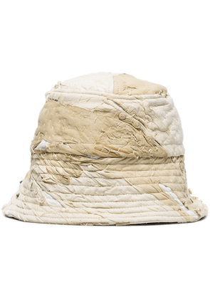 By Walid 19th century bucket hat - White
