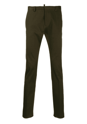 Dsquared2 skinny-fit tailored trousers - Green