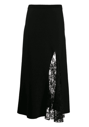 Givenchy lace panel skirt - Black