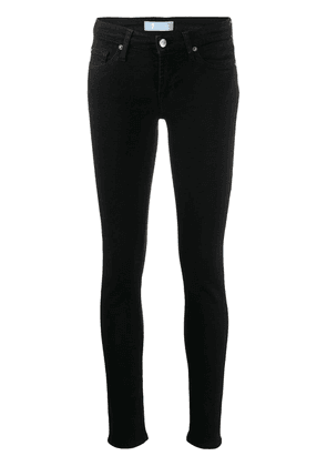 7 For All Mankind low rise skinny jeans - Black
