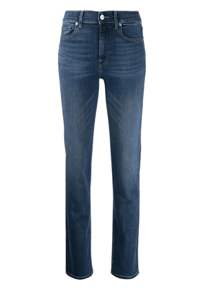 7 For All Mankind slim fit straight-leg jeans - Blue