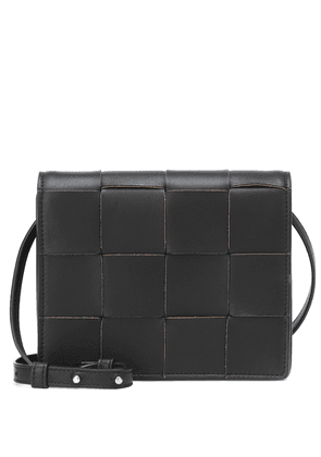 Mini leather crossbody bag