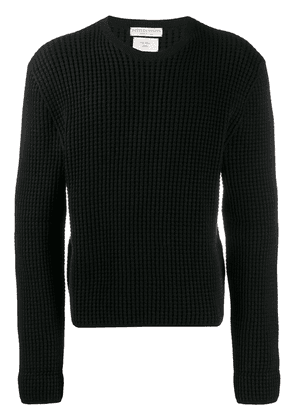 Bottega Veneta textured jumper - Black