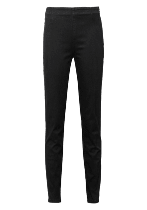 Prada side-zip skinny trousers - Black