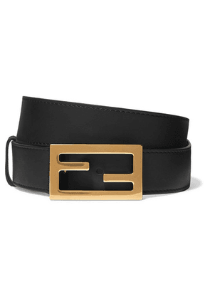 Fendi - Leather Belt - Black