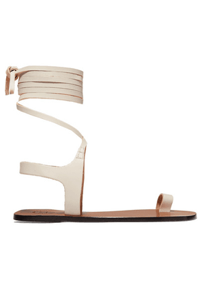 ATP Atelier - Candela Leather Sandals - White