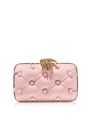 Rose Leather Carmen with Hand Clutch