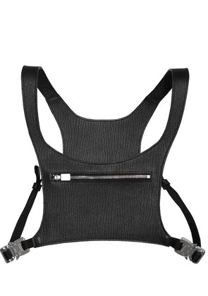 Minimal Leather Chest Rig