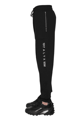 Recycled Logo Printed Jersey Sweatpants