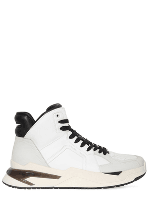 High Top Leather Basketball Sneakers