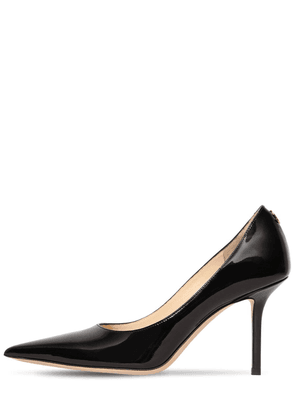 85mm Love Patent Leather Pumps