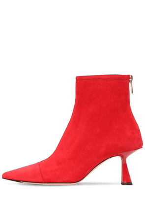 65mm Kix Suede Ankle Boots