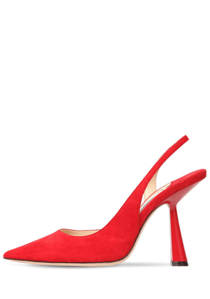 65mm Fetto Sling Back Suede Pumps