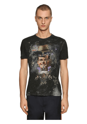 Fantasy Print Cotton Jersey T-shirt