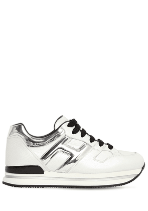 45mm H222 Leather Sneakers