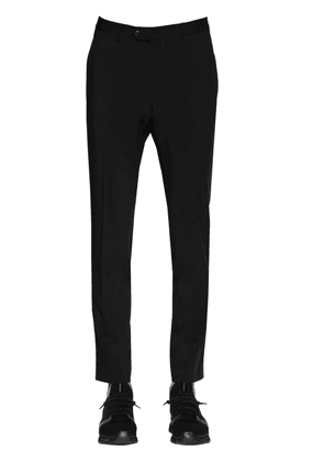 17.5cm Lined Stretch Wool Pants