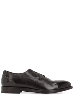 25mm Buffalo Leather Derby Shoes