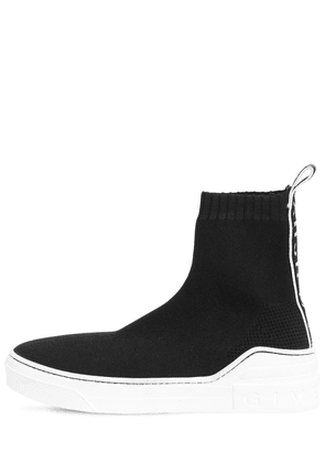 20mm George V Knit High Top Sneakers