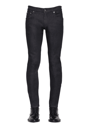 Skinny Fit Stretch Cotton Blend Jeans