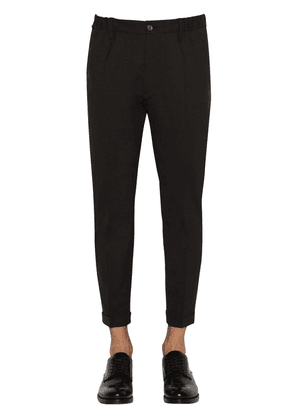 Stretch Worsted Wool Pants