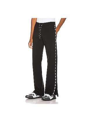 Valentino Logo Sweatpant in Black