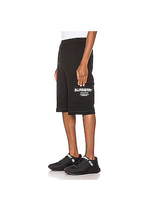 Burberry Ailford Track Shorts in Black